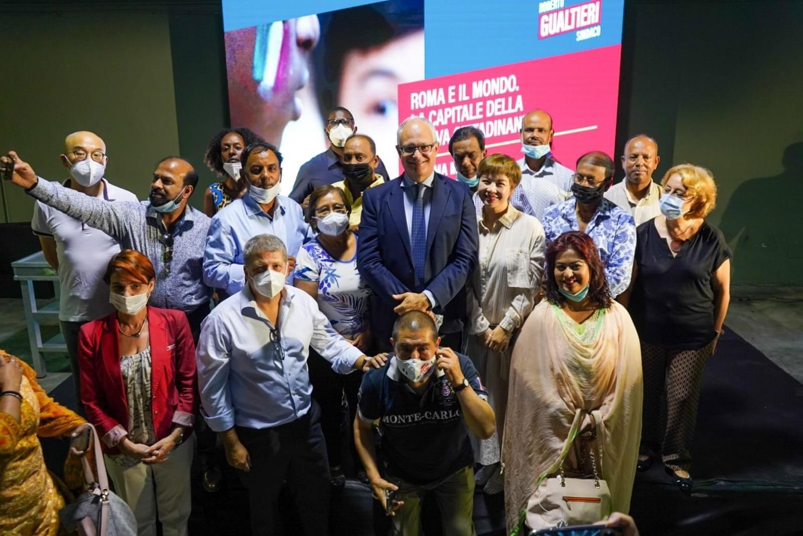 Roma, Gualtieri incontra rappresentanti comunità straniere