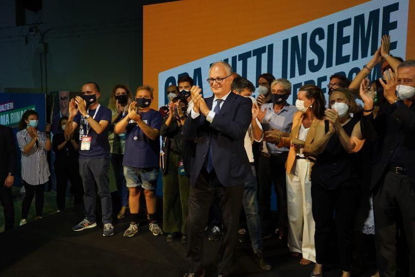 """Gualtieri: """"Convergenza naturale con gli elettori di Calenda e Raggi. I moderati non votano Michetti"""""""